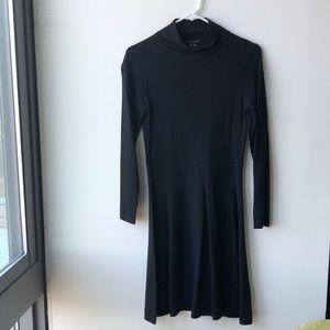 Theory Wool Mock Turtleneck Dress Size M